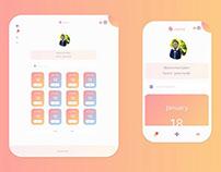 Daycare Follow-up App UI Design