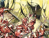 sequential art 5- Khor's Lands