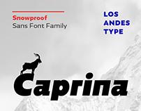 Caprina font family
