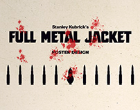 Stanley Kubrick's Full Metal Jacket - Poster Design