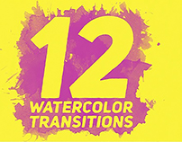 Watercolor Transitions 4K