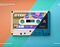 Cassette Tape MockupsIndieground Design