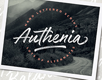 Authenia typeface