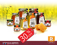 Post for Honey promotion