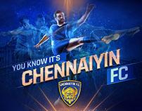 CHENNAIYIN FC SEASON 3 CAMPAIGNS