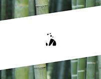 Panda Logo, Minimal Design and Gestalt Principle