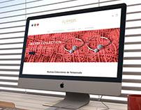 Flappers Bijouterie - Identidad Corp. Website