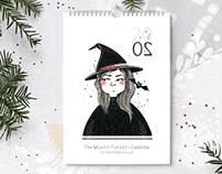 The Mystic Forest. Calendar