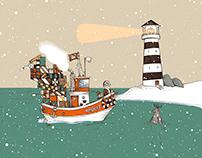 Santas Boat