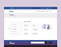ColabIT Account Setting UI Design
