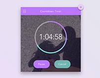 [UI] Countdown Timer