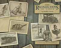Some Recollections in Verse (book cover, illustrations)