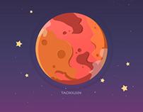 再见了地球人,我要回火星👋
