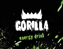Gorilla Energy — site de uma página
