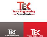 LOGO Design Trans Eninerring Consultants