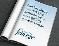 Febreze Headline Campaign