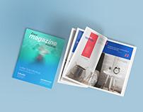 Free Letter Size Magazine Mockup