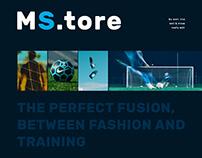 """Online Shop Website """"MS.tore"""""""