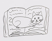 Cataccino Cat whiteboard