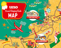 Uno Guam Magazine - Uno Guam's Shopping Guide Map