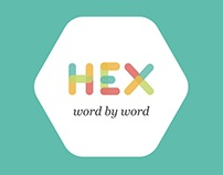 HEX - word by word - Senior Thesis Project