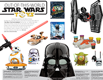 2015 Editorial Designs :: Star Wars Gift Guide