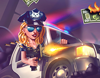 Crime Coast Splash Art