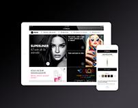 L'Oreal Paris · Spain Mobile Website