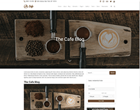 Single Blog Post - Cafe WordPress Theme