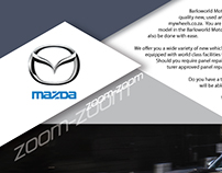 Mazda Double Spread