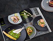 Основное меню ресторана МАНСАРДА / Main menu Mansarda