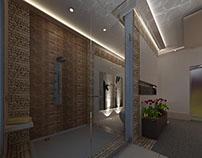 Interior design -master bathroom
