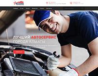 """Red Star"" Autoservice. Website"