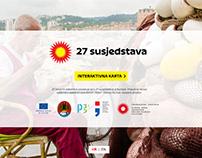 Map for Rijeka 2020 - European capital of culture