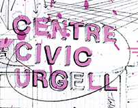 Centre Cívic Urgell - brochure cover
