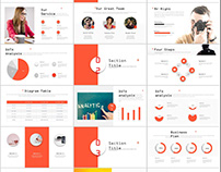 27+ Red company annual report PowerPoint templates
