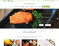 WS Desushi – Sushi Restaurant Woocommerce theme