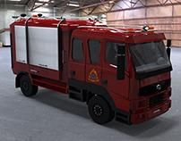 City Firefighting Vehicle