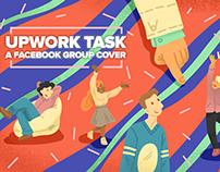 FB cover illustration