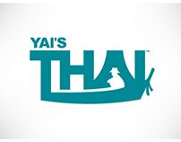 Yai's Thai - branding & packaging