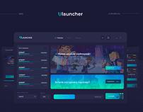 Дизайн для лаунчера - ULauncher