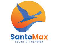 SantoMax logo redesign