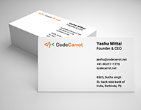 CodeCarrot Visiting Card