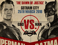 Dawn of Justice Fight Poster