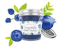 L'Artisan Confiturier - Illustrated Jam Packaging