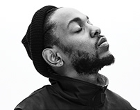Kendrick Lamar website redesign