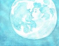 """『水彩の月』への習作 Study to Mr.Hata Motohiro's Opus """"水彩の月"""""""