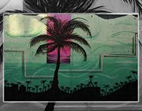 Like a Palm tree / Mural