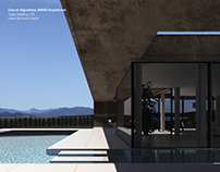 Render_House in Aiguablava by Mano Arquitectura
