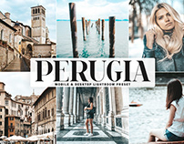 Free Perugia Mobile & Desktop Lightroom Preset